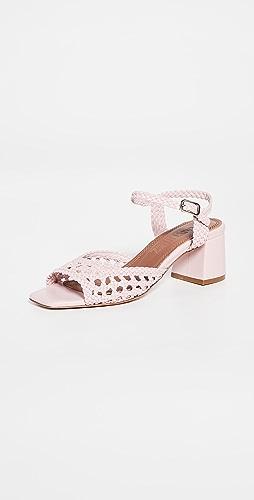 Souliers Martinez - 50mm Ischia Woven Sandals
