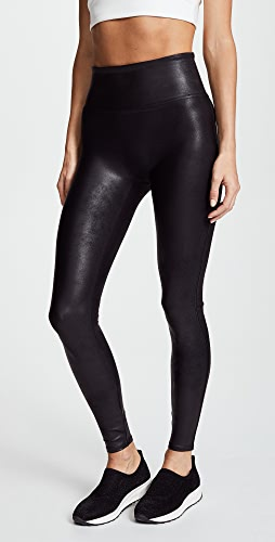 SPANX - 仿皮贴腿裤