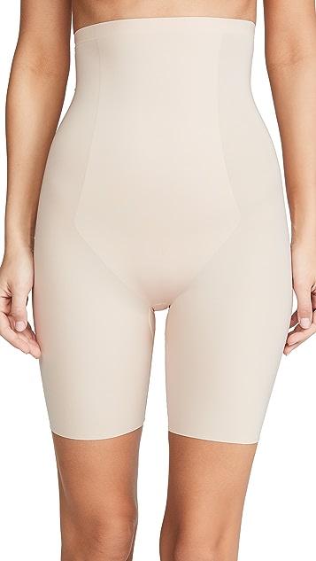 SPANX Thinstincts 长至大腿中部的高腰短裤