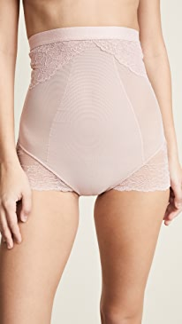 Lace Collection High Waisted Briefs