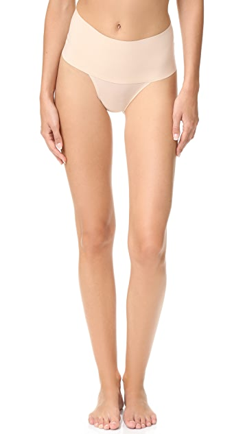 SPANX Undie -Tectable Thong - Soft Nude