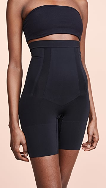 2d9c1a94d1 SPANX Oncore High Waisted Mid-Thigh Shorts | SHOPBOP