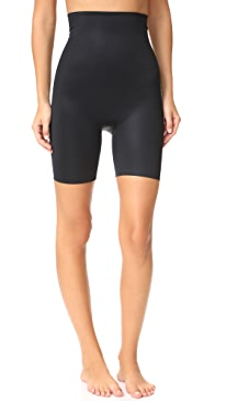 Power Conceal-Her High-Waisted Mid-Thigh Shorts