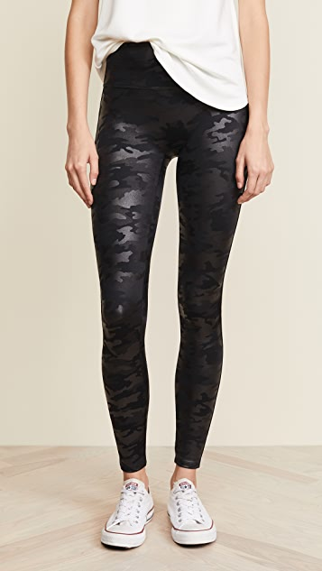 7245d99e836b9 SPANX Faux Leather Camo Leggings | SHOPBOP