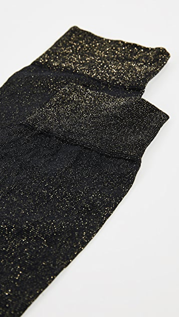 SPANX Shimmer Socks