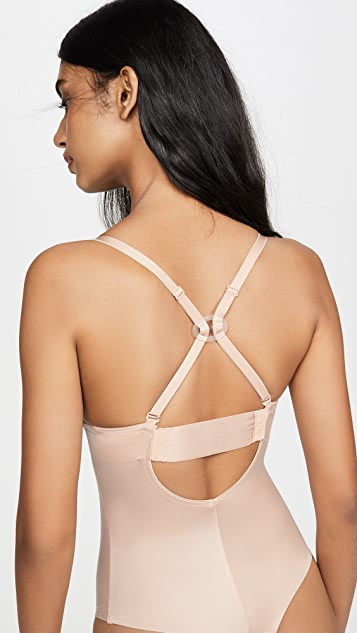 SPANX Suit Your Fancy Low Back Bodysuit