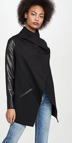 SPANX - 多种穿法人造皮夹克