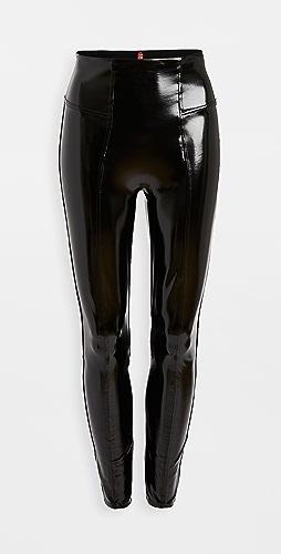 SPANX - 人造漆皮贴腿裤