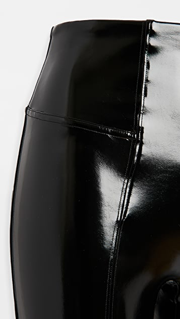 SPANX Faux Patent Leather Leggings