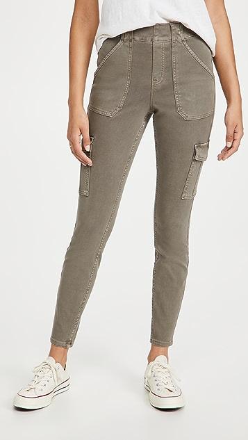 SPANX Stretch Twill Ankle Cargo Pants