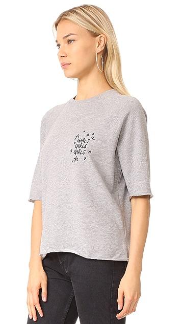 ... South Parade Girls Girls Girls Embroidered Sweatshirt ...