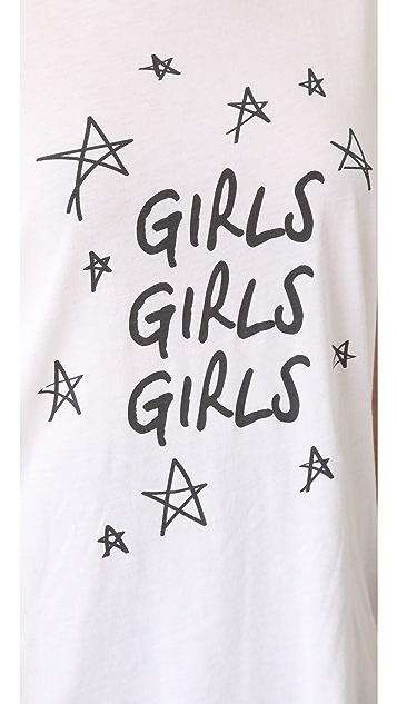 South Parade Girls Girls Girls Tee