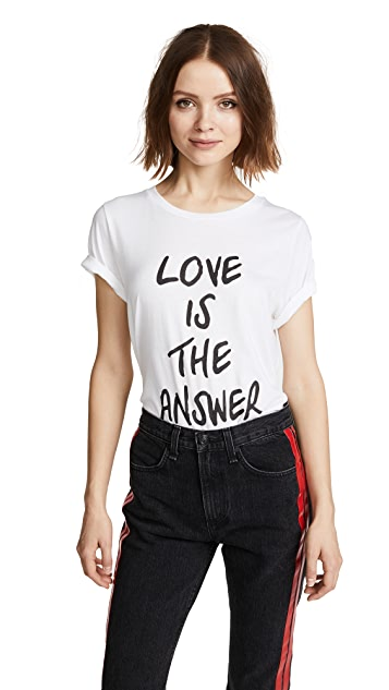 South Parade Love Is the Answer Tee