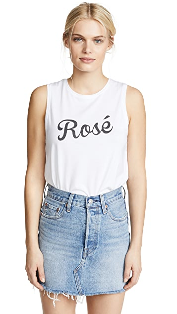 South Parade Rose Muscle Tank