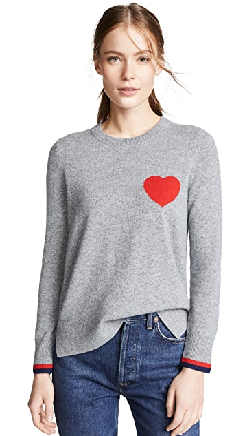 South Parade Cashmere Heart Sweater