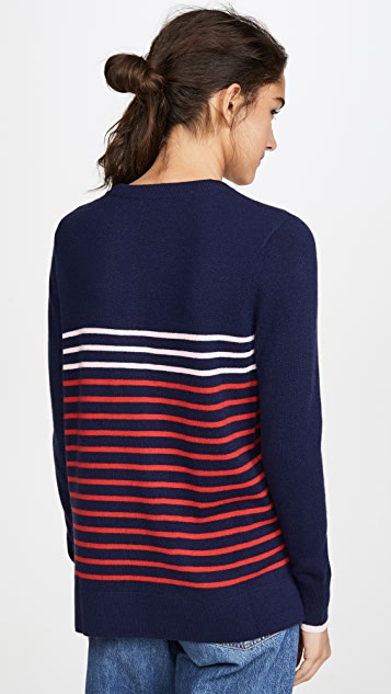 South Parade Stripe Cashmere Sweater
