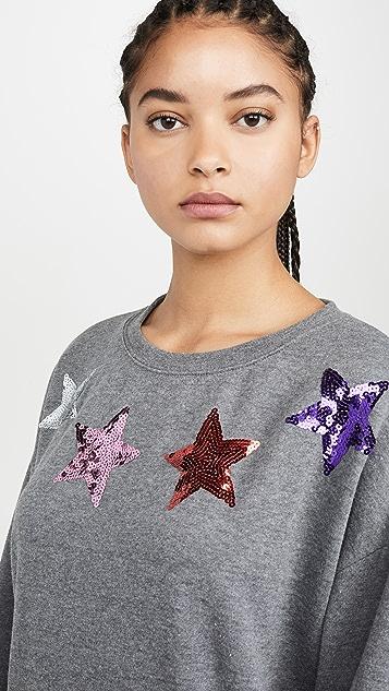 South Parade Alexa 星星衣领运动衫