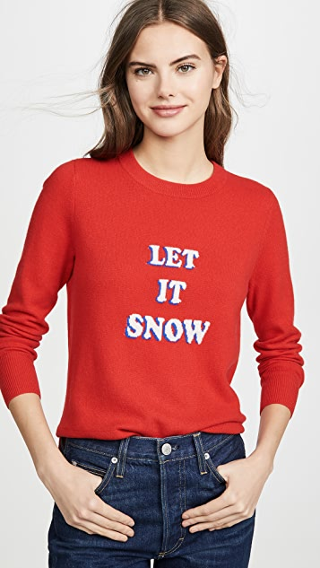 South Parade Кашемировый свитер Let It Snow