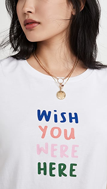 South Parade Wish You Were Here Tee