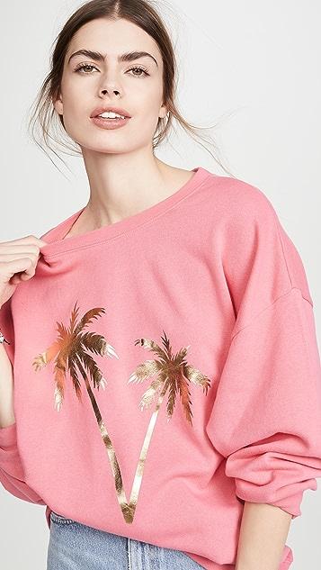 South Parade 棕榈树图案运动衫
