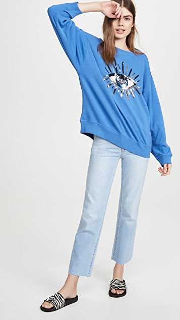 South Parade Alexa Evil Eye Sweatshirt