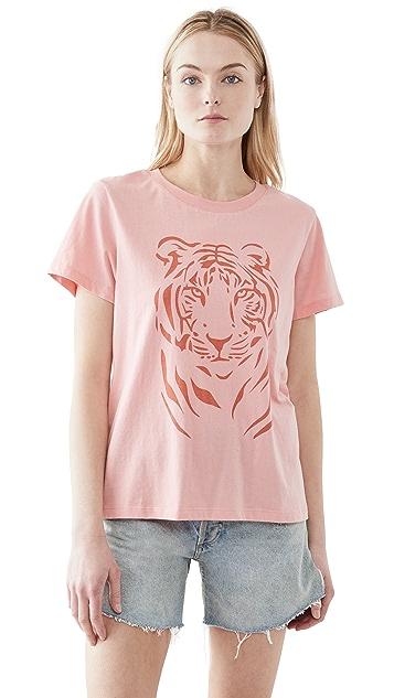 South Parade 老虎图案 T 恤