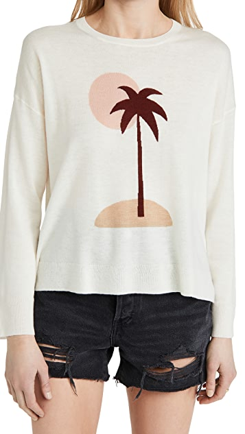 South Parade Desert Palm Sweater