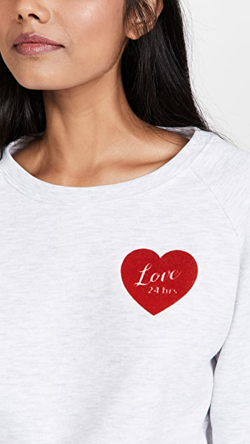South Parade Rocky Love 24 Hrs Sweatshirt