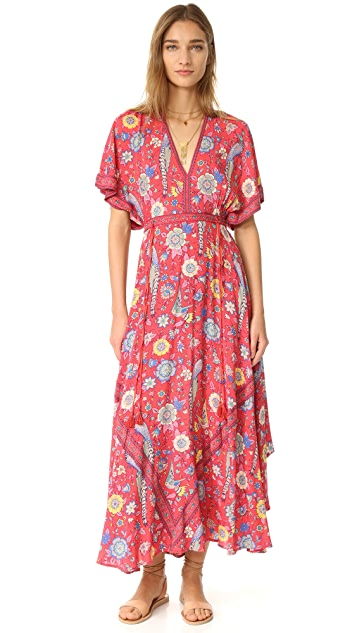 Spell and the Gypsy Collective Lovebird Half Moon Gown