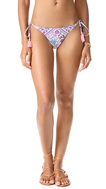 Spell and the Gypsy Collective Babushka Tie Side Bikini Bottoms