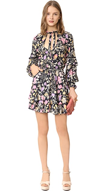 Spell and the Gypsy Collective Sayulita Frill Mini Dress