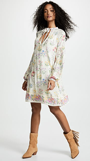 0339a065957 Spell and the Gypsy Collective Posy Long Sleeve Mini Dress