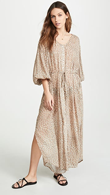 Spell and the Gypsy Collective Frankie Shirt Dress - Cheetah
