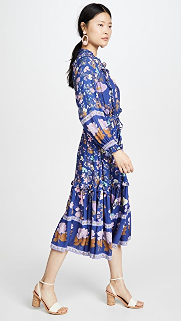 Spell and the Gypsy Collective Wild Bloom Midi Dress