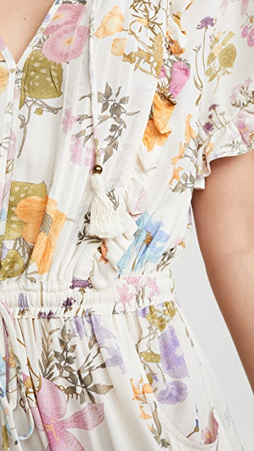 Spell and the Gypsy Collective Платье с полевыми цветами