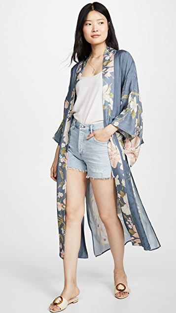 Spell and the Gypsy Collective Waterfall Maxi Kimono