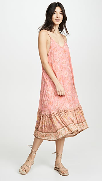 Spell and the Gypsy Collective Seashell Strappy Midi Dress