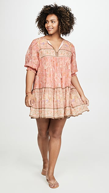Spell and the Gypsy Collective Seashell Boho Mini Dress