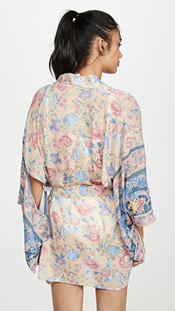 Spell and the Gypsy Collective Seashell Short Robe