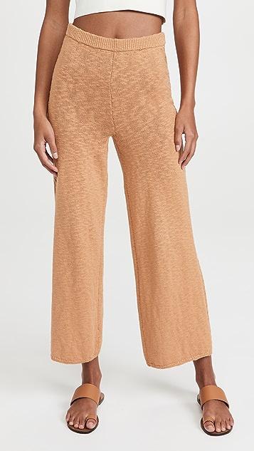 SPELL Yellowstone Knit Pants - Caramel