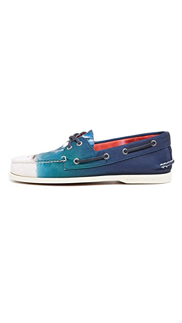Sperry JAWS Shark Attack A/O 2 Eye Boat Shoes