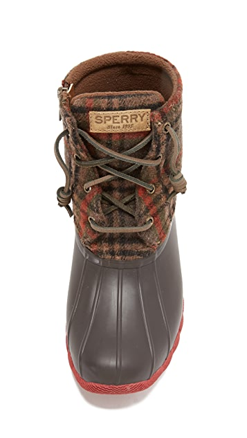 Sperry Saltwater Prints Booties