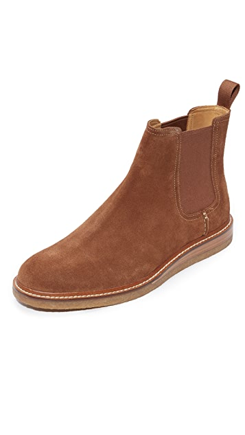 Sperry Gold Cup Suede Chelsea Boots