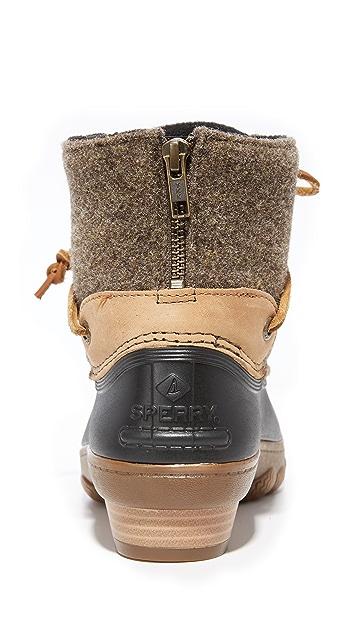 89b433a76087 ... Sperry Saltwater Wedge Tide Wool Booties