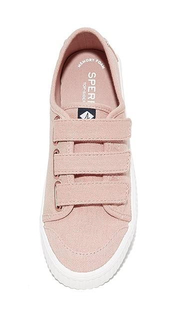 Sperry Crest Velcro Creeper Sneakers
