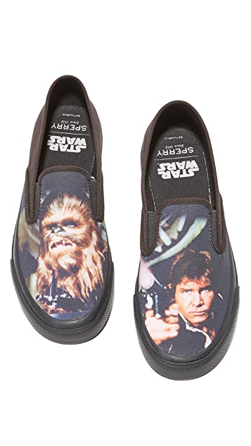 Sperry x Star Wars HAN & CHEWIE Cloud Slip On Sneakers