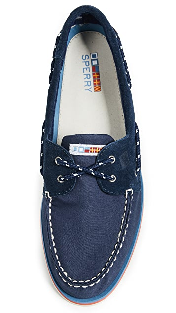 Sperry A/O 2-Eye Nautical Boat Shoes