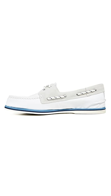 Sperry A/O 2-Eye Nautical Boat Shoes