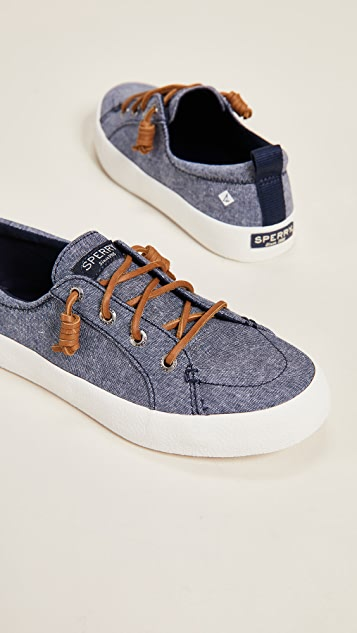 Sperry Crest Vibe Crepe Chambray Sneakers
