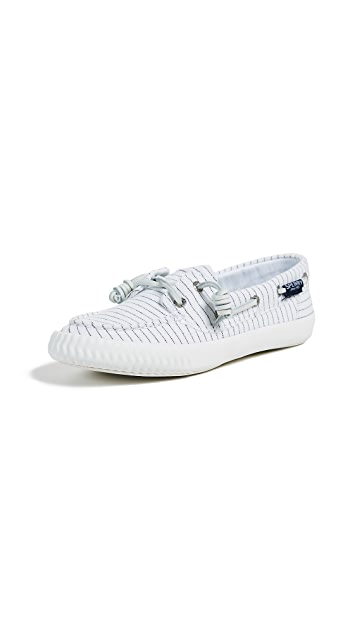 Sperry Sayel Away Pinstripe Boat Shoes